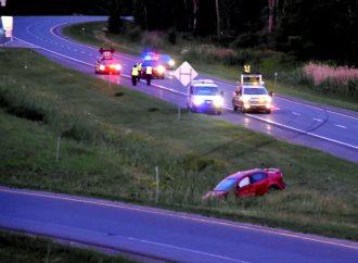 Embardée à haute vitesse sur la 55 à Drummondville – Un conducteur pourrait être accusé