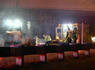 Accident mortel sur un chantier de l'autoroute 20, Éric De Champlain-Blais, fait face à la justice