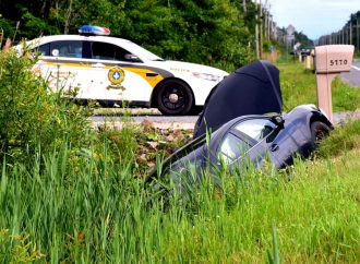 Accident sur le boulevard Saint-Joseph – Un seul véhicule impliqué