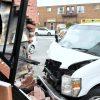 Un livreur percute un immeuble à Drummondville