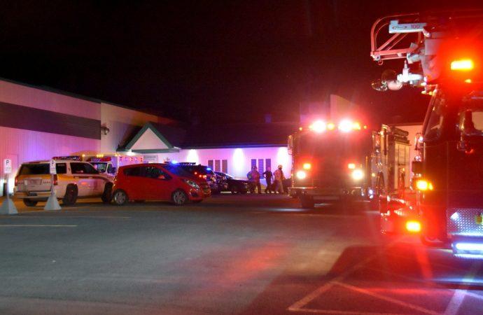 Accident de travail à la Ferme des Voltigeurs, les pompiers demandés en assistance