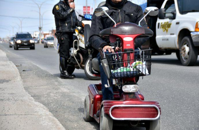 Quadriporteur – ''un conducteur'' intercepté au beau milieu du boulevard Saint-Joseph à Drummondville