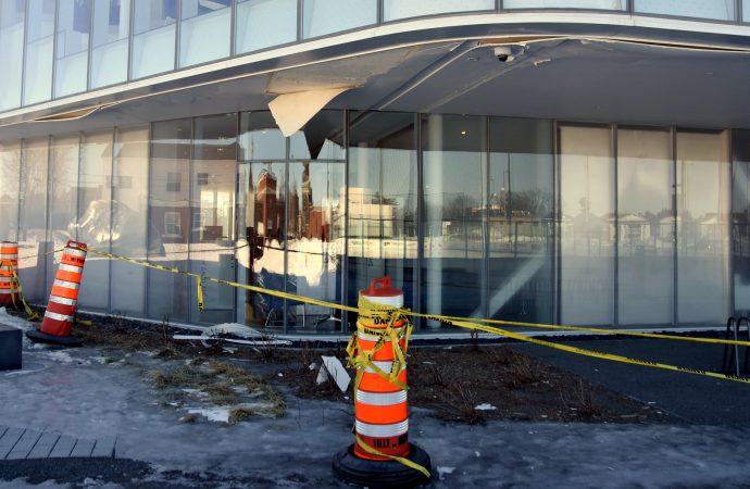 Des infiltrations d'eau occasionnent des travaux à la bibliothèque publique de Drummondville