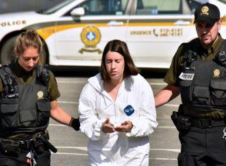 Deuxième journée pour l'enquête préliminaire de Marina Bonard accusée du meurtre de son père à Drummondville
