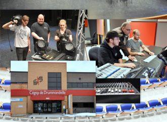 Cégep de Drummondville – Période d'inscriptions aux AEC Techniques d'éclairage de scène et Création sonore multimédia