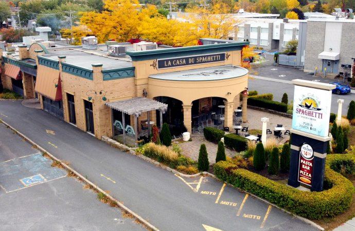 Une entreprise phare de Drummondville disparaîtra, la Casa du Spaghetti fermera ses portes