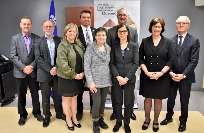 La ministre McCann salue la réorganisation des services ambulatoires gériatriques au Centre-du-Québec et en Mauricie