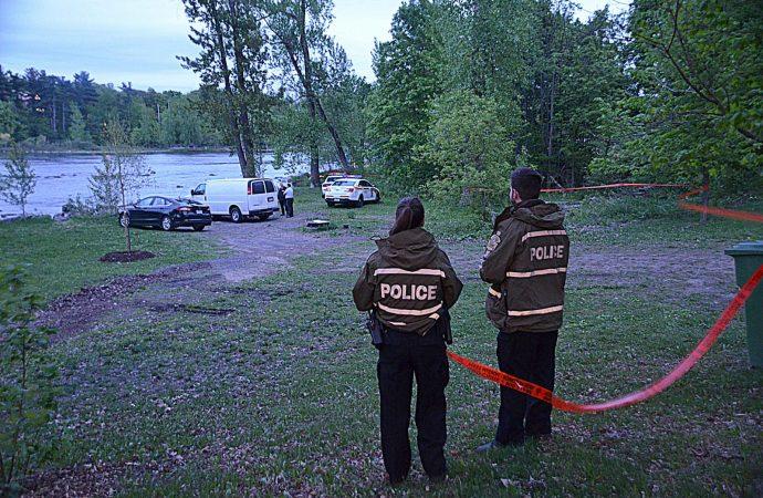 Macabre découverte au parc Woodyatt de Drummondville
