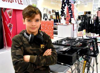 Dj Youri Cliche 12 ans – DJ par passion, un avenir qui a du beat pour le jeune Drummondvillois