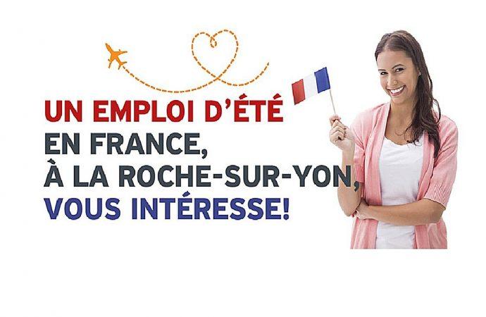 Postulez pour l'un des quatre emplois étudiants à combler à l'été 2019 à La Roche-sur-Yon