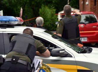 Enquête des crimes majeurs rue Maisonneuve à Drummondville