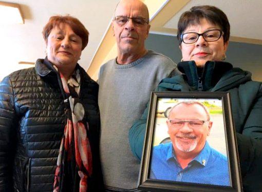 La famille de Roland Baker s'exprime au juge par écrit lors des représentations sur la peine