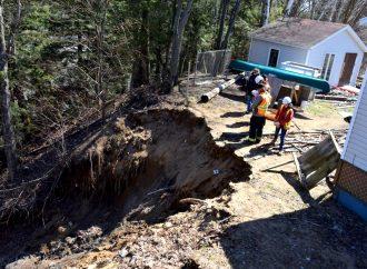 Saint-Bonaventure – Deux glissements de terrain, dont un à quelques pieds d'une résidence familiale