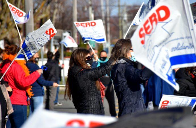 Mouvement de grève et message important transmis au gouvernement par les enseignants et enseignantes