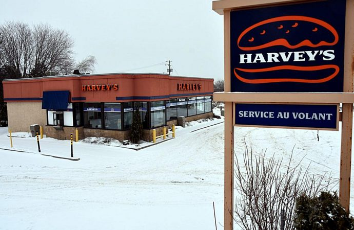 Fermeture du restaurant Harvey's de Drummondville: 17 employé(e)s perdent leur emploi