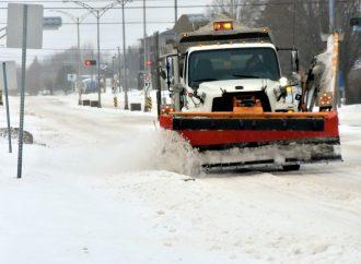 Conditions routières difficiles à prévoir sur le territoire de la MRC de Drummond