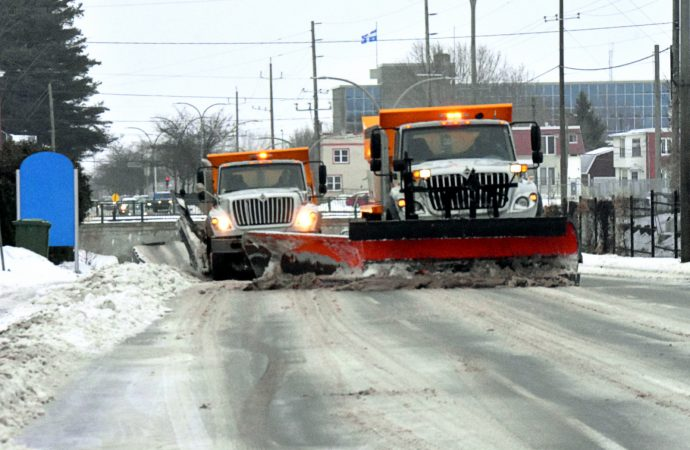 Verglas et neige – Tout est sous contrôle à Drummondville
