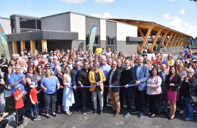 Émotions, fierté et festivités étaient au rendez pour l'inauguration du nouveau Centre des loisirs de Saint-Germain-de-Grantham
