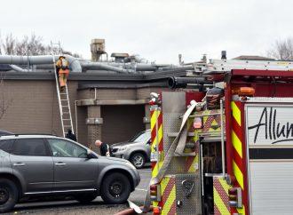 Début d'incendie chez Canimex rue Laferté à Drummondville