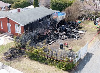 La SQ et le Service incendie de Drummondville enquêtent afin de déterminer les causes d'un deuxième incendie à Drummondville