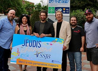 William Deslauriers porte-parole de la 11e édition des «JEUDIS EN CHANSONS de la SSJBCQ»