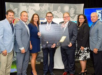 La LHJMQ à Drummondville pour honorer le lieu de sa création