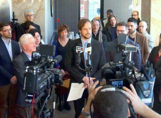 Mairie de Drummondville – Mathieu Audet entouré de son équipe priorisera la qualité de vie des Drummondvillois