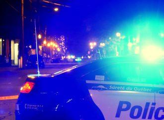 Un homme barricadé refuse de collaborer avec les policiers au centre-ville de Drummondville
