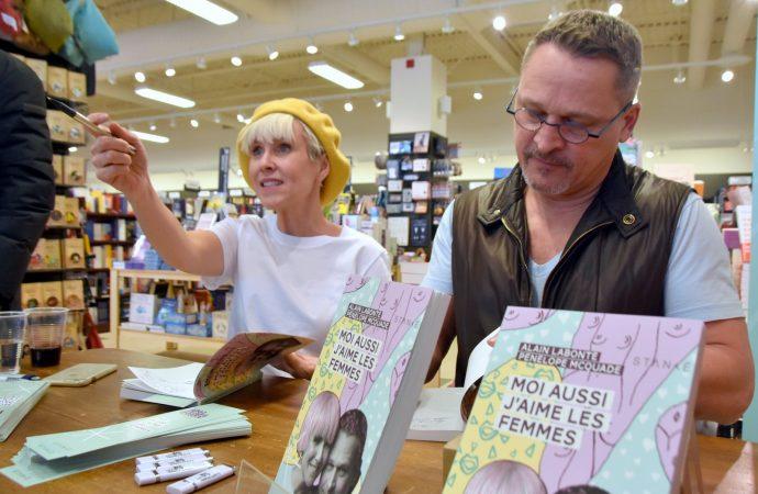 ''Moi aussi j'aime les femmes'' une rencontre toute Drummondvilloise pour Alain Labonté et Pénélope McQuade (Vidéo)