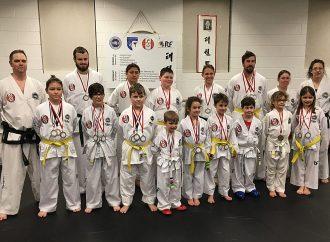 Phan Taekwon-do Drummondville obtient 25 médailles à la compétition régionale de Saint-Grégoire (Bécancour)
