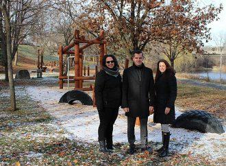 Le parcours vitalité:  Une nouvelle infrastructure aménagée au parc Woodyatt de Drummondville