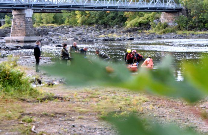 La rivière Saint-François rend le corps du pêcheur porté disparu à Drummondville