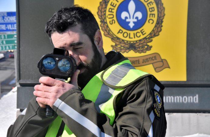 Un conducteur de 17 ans intercepté à plus de 130 km/h sur le boulevard Saint-Joseph