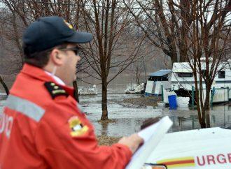 INONDATION – *NOUVELLE PRÉALERTE* : Surveillance accrue pour le chemin de la Longue Pointe dans le secteur du Bec du canard