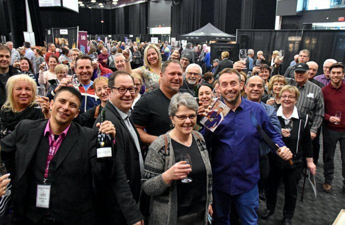 «Champagne »  pour la première édition « Salon Découverte vins et spiritueux Centre-du-Québec  »  !