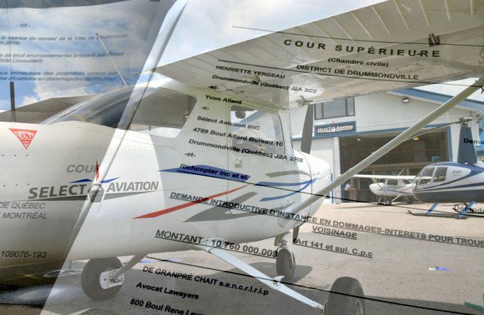 Dossier Select Aviation 224 citoyens tentent d'obtenir près de 11 millions en dommages et intérêts à Drummondville