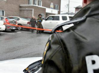 Un suspect d'un vol de véhicule en fuite tente de semer les policiers à Drummondville