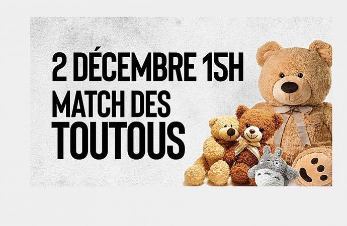 Match des toutous: Une tradition maintenant signée Fondation Sainte-Croix/Heriot