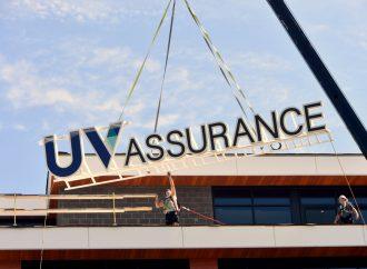 """UV Assurance atteint un nouveau """"sommet"""" à Drummondville, une opération qui n'est pas passée inaperçue !"""