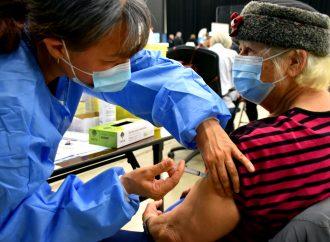 C'est parti pour la vaccination de masse contre la Covid19 au Centrexpo Cogeco de Drummondville