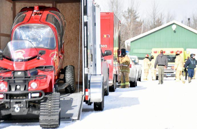 Un accident de motoneige à Saint-Cyrille-de-Wendover, un rappel à la prudence en cette période de l'année