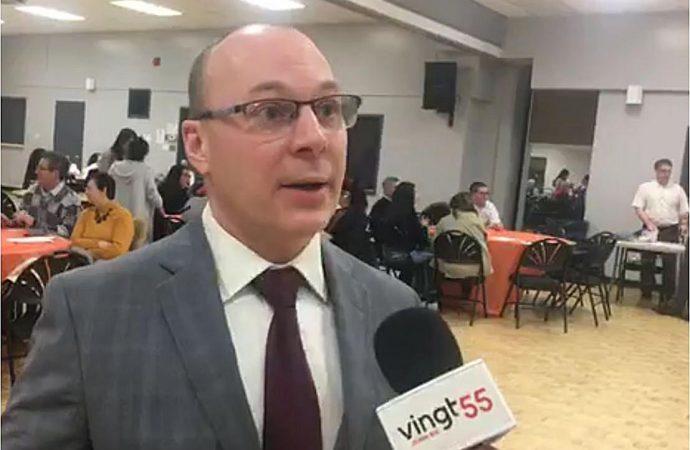 Élections fédérales 2019: François Choquette officialise sa candidature dans Drummond