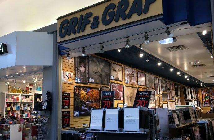 Une nouvelle vocation permet d'éviter la fermeture de Grif & Graf aux Promenades Drummondville