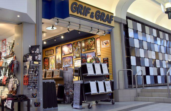 Grif & Graf ferme ses portes et quitte les Promenades Drummondville