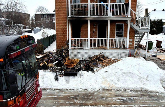 Une personne de blessée dans un incendie à Drummondville