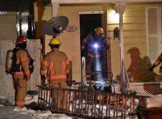 Le Service incendie appelé à maîtriser deux incendies simultanément à Drummondville