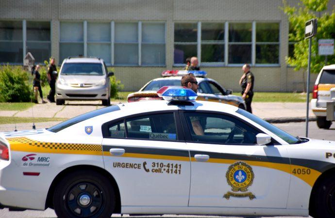 Enquête des crimes majeurs sur l'opération policières en milieu scolaire à Drummondville