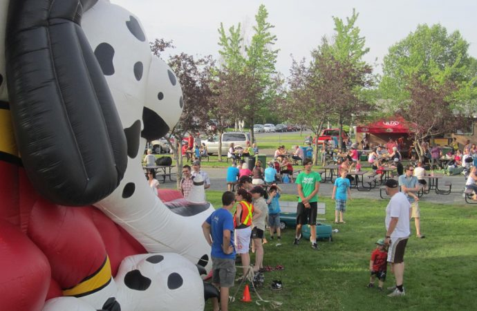 La fiesta au parc Saint-Georges