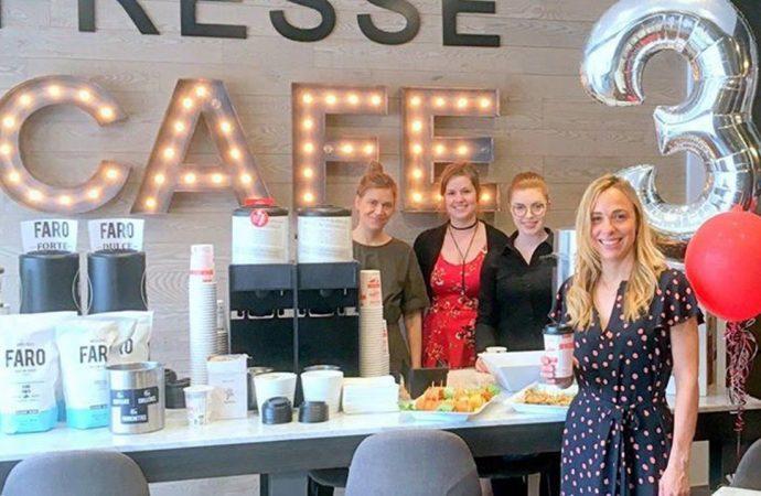 Trois chandelles et une nouvelle association pour Presse café