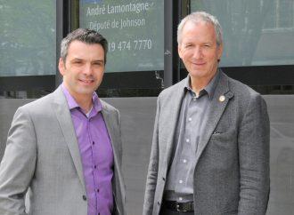 Schneeberger et Lamontagne saluent la qualité de l'équipe du Vingt55